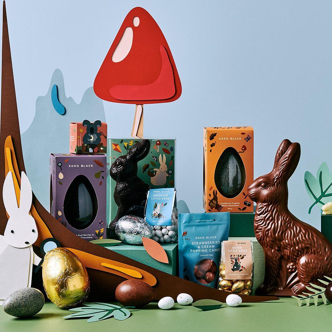 Australian Chocolate brand Koko Black launch vegan easter range
