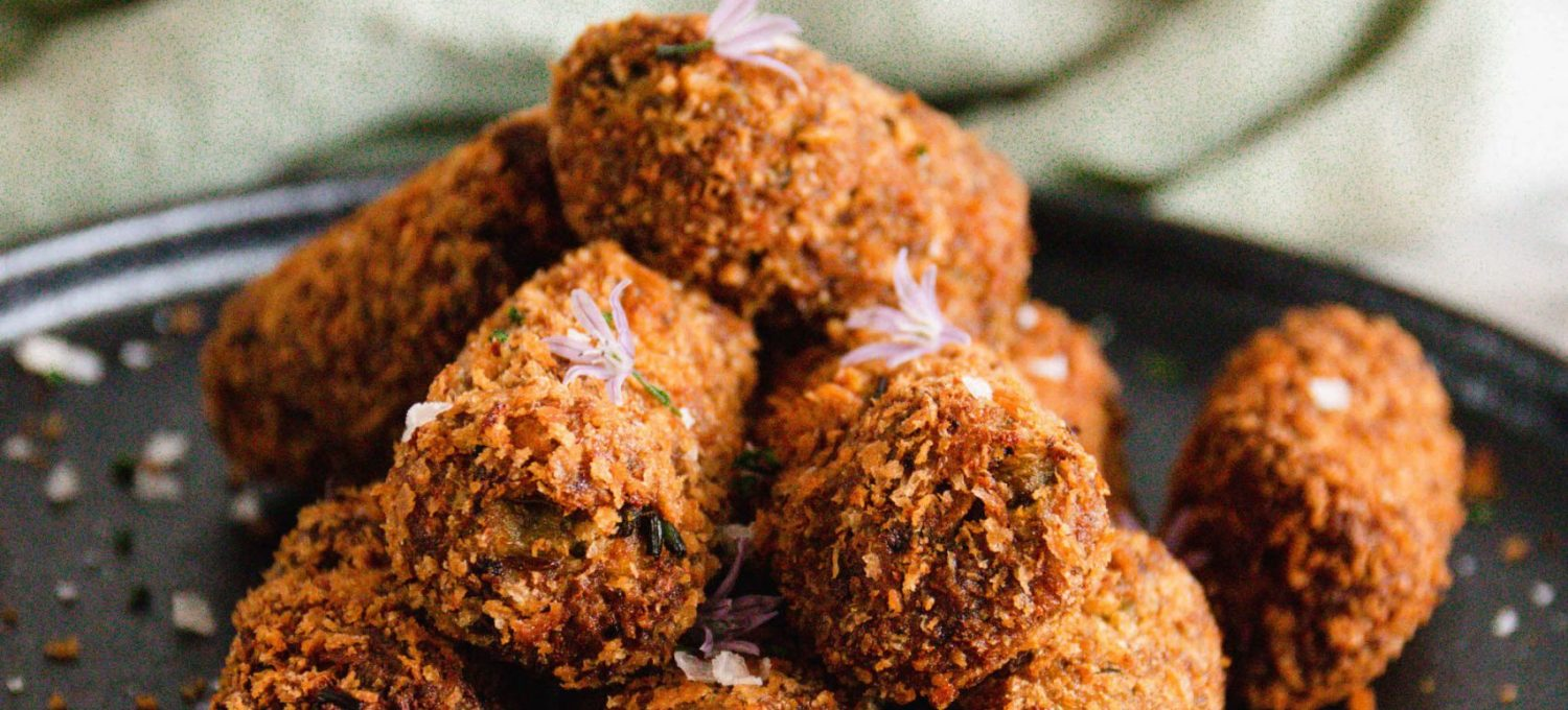 'Cheesy' Garlic & Herb Fable Croquettes x Mingle