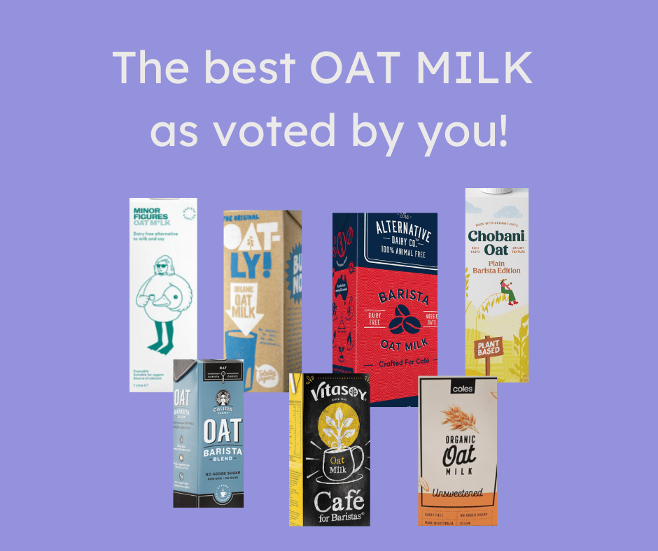 Best Oat Milk in Australia as voted by you!