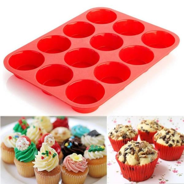 Silicone Baking Mould Red