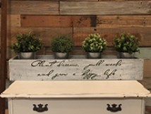 Planter Box - Plant Dreams, Pull Weeds, and Grow a Happy Life