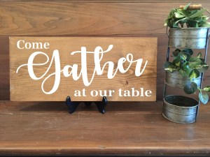 Come Gather At Our Table-1