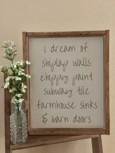 I Dream of Shiplap Walls