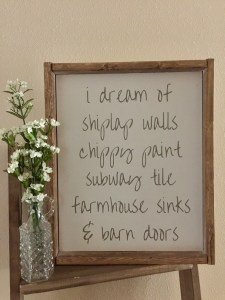 I Dream of Shiplap Walls