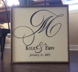Monogram - Simple with Frame