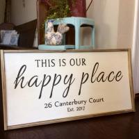 Large Framed Signs
