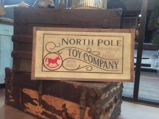 North Pole toy company