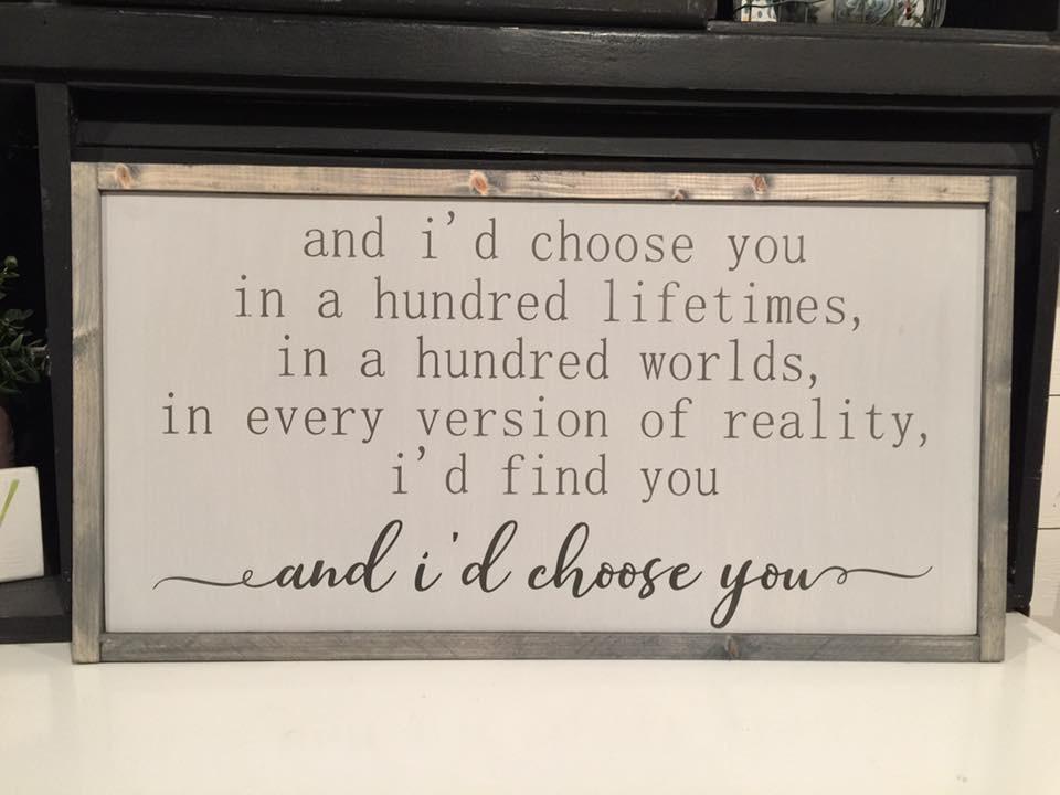 Id choose you