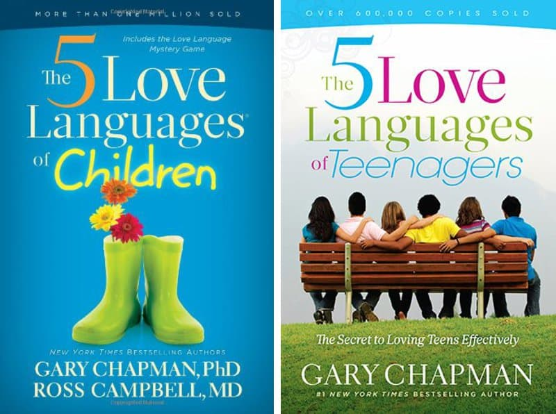 5 Love Languages for Children *Great read for parents