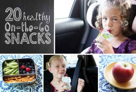 {20 Healthy On-the-Go Snacks} *Perfect for running between after school activities #BuddyFruitsB2S