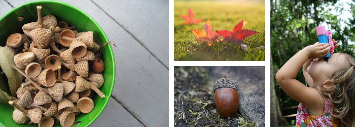 {10 Must-Try Ideas for Outdoor Fall Play} *Including scavenger hunt ideas