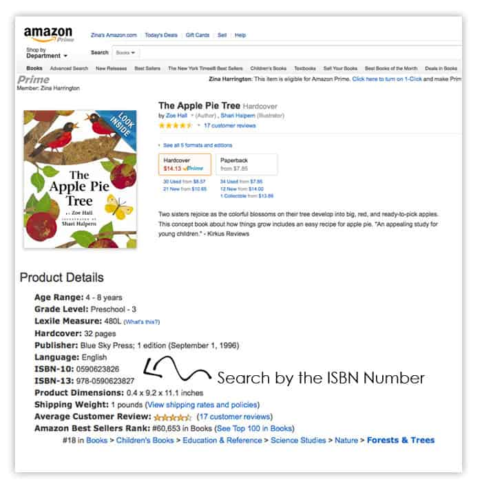 {Reserving Books} Quick tip: Use the ISBN to track down books in your library's online catalog