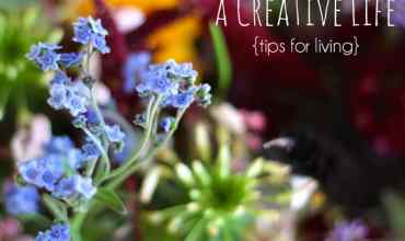 On Living a Creative Life