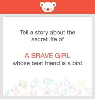 {Writing Prompt} Tell a story about the secret life of a brave little girl whose best friend is a bird.