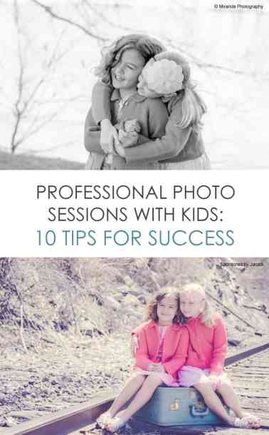 Professional Photography Sessions with Kids: 10 Tips for Success *tip #2 is so important for families
