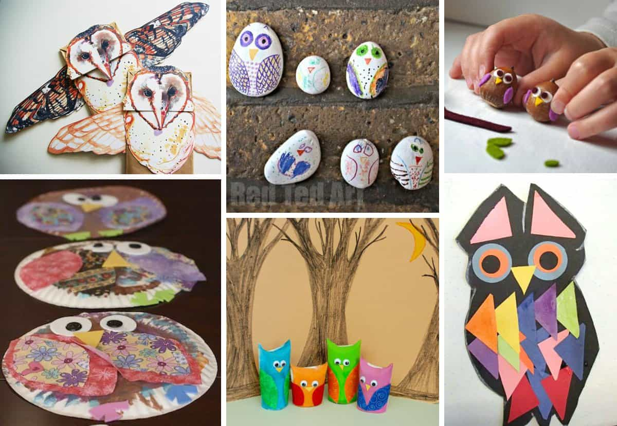 What A Hoot 10 Owl Crafts For Kids
