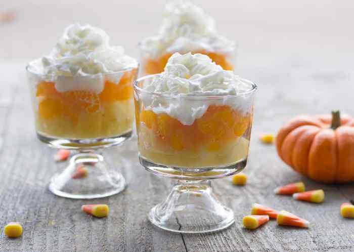 Healthy Halloween Snack for Kids: Candy Corn Fruit Cups *so simple. saving this for later...