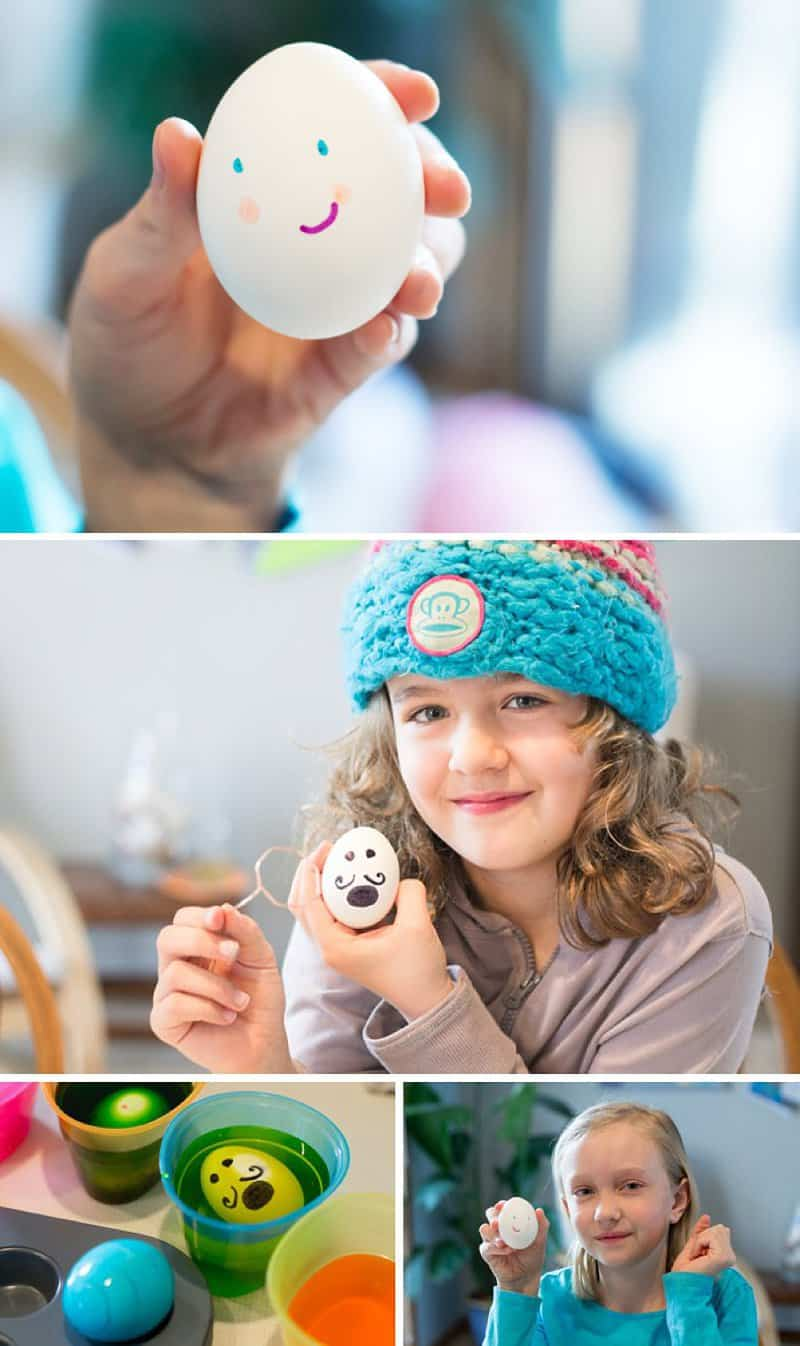 30 Creative Ways to Decorate Easter Eggs with Kids *I've always wanted to try #4