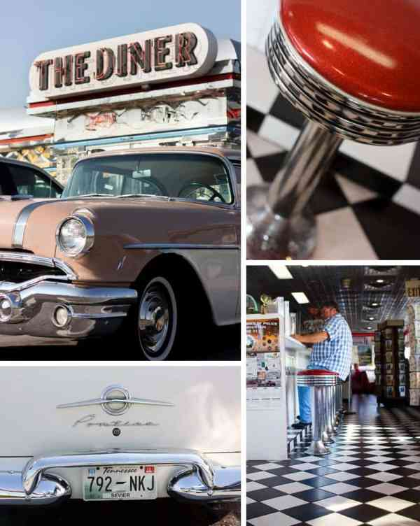 7 Hidden Treasures: Tips for Planning a Family Vacation in the Smoky Mountains *The Diner in Sevierville Tennessee was delicious