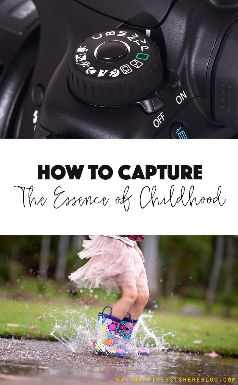 Capturing the Essence of Childhood: 9 Stunning Photos + One Simple Photography Trick *These pictures are gorgeous!