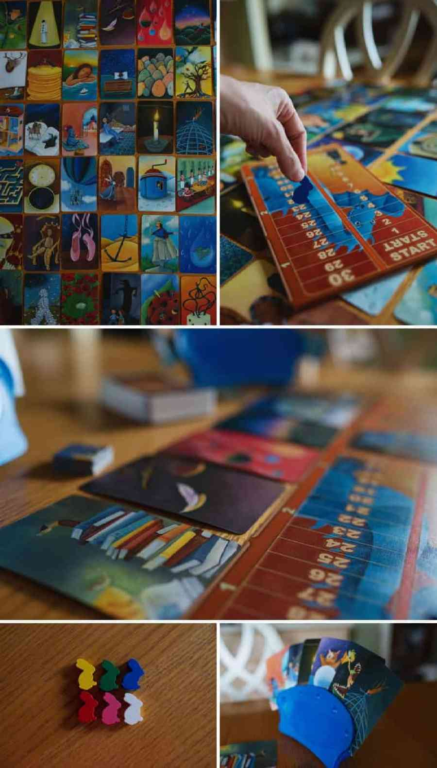 If your family loved the board game Carcassonne ... You've got to try Dixit! Your kids will love it on game night. *We are so getting this!