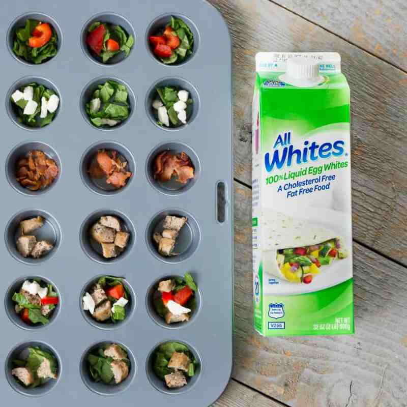 Here are 5 insanely easy breakfast recipes that will give you a morning boost. These healthy egg white cups are packed full of protein and is a quick on-the-go breakfast snack. You can make one batch to last a full week. *Crazy easy way to start your family's day with eggs