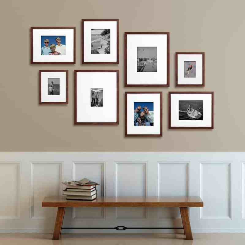 Unique gift ideas for parents who have everything *Love this changeable gallery idea!