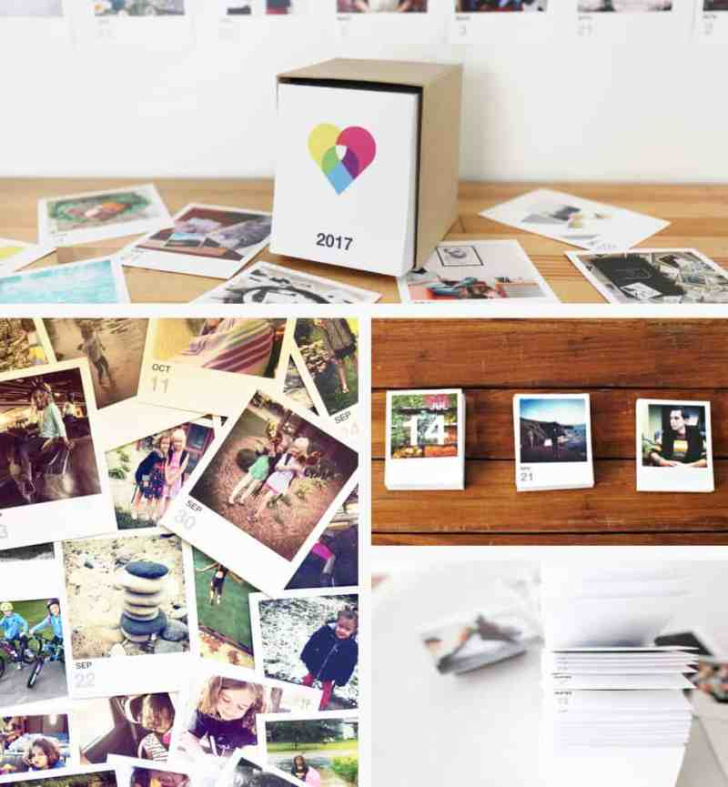 Unique gift ideas for parents who have everything *Love this Instagram calendar idea
