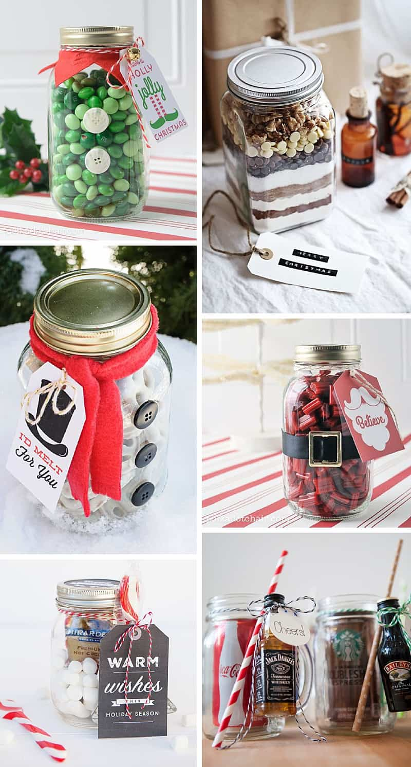 7 Mason Jar Gifts That Are Perfect for Christmas: Delicious handmade gifts for the holidays #masonjar #DIYgifts #masonjargifts *Loving this collection of DIY ideas