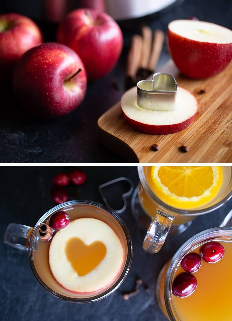 Have Thanksgiving activities for the kids pre-planned. My kids love making these apple hearts for mulled cider on Thanksgiving. #thanksgiving *Great hosting tips for saving time!