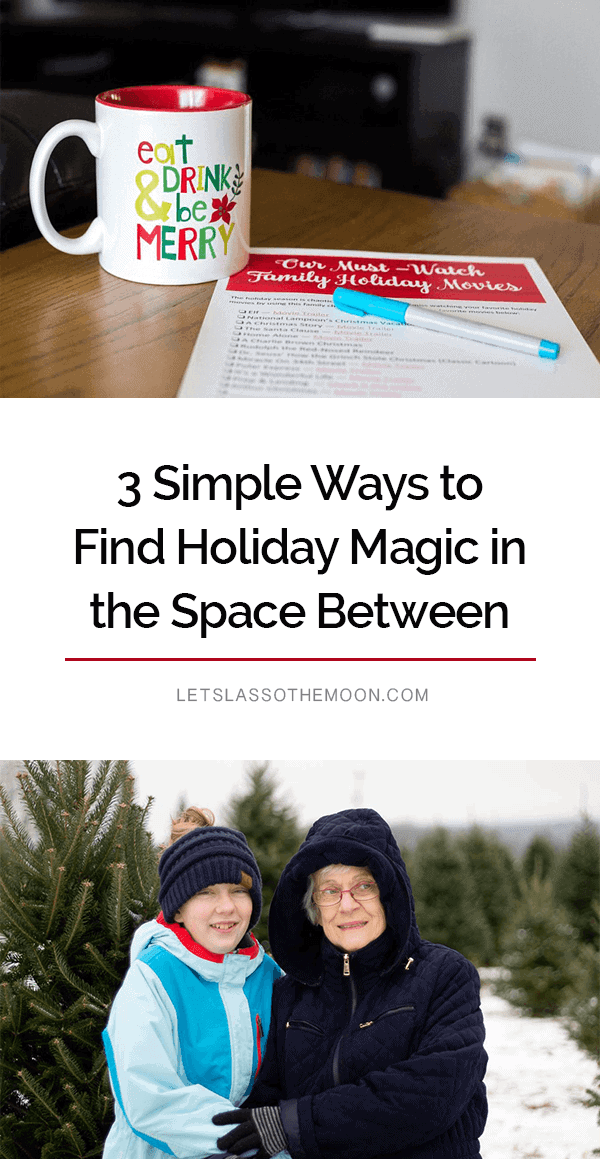 "You deserve time outside of the kitchen this Christmas... We get so caught up in creating ""holiday magic"" that we forget it inherently exists right there in front of us to enjoy. #christmas #familychristmas *Love this post!"