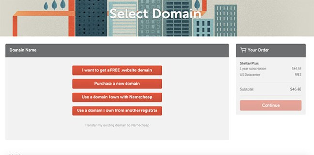 How to buy hosting from Namecheap