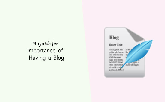Importance of having a blog guide