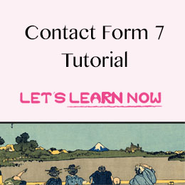 how to use contact form 7 WordPress Plugin