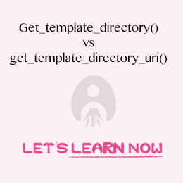 Gettemplatedirectory Vs Gettemplatedirectoryuri Explained
