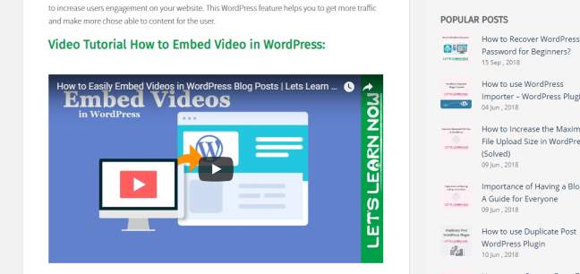 How to Embed Video in WordPress (4)