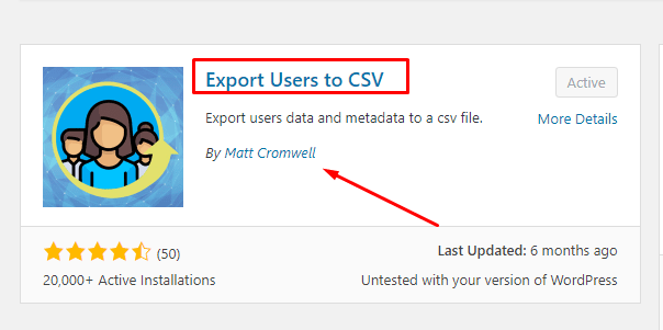 How to Export WordPress Users Data to a CSV File (1)