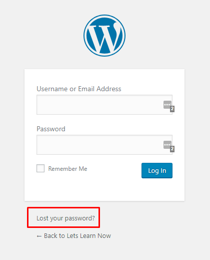 How to Recover WordPress Password for Beginners (1)