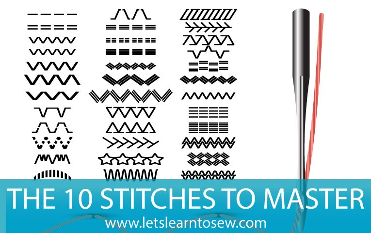 The Top 10 Sewing Machine Stitches You Need To Master