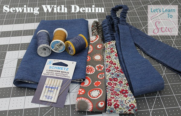 Denim may be a wardrobe staple for most of us but it can be intimidating to work with. Here are a few tips and tricks to make sewing denim stress-free.
