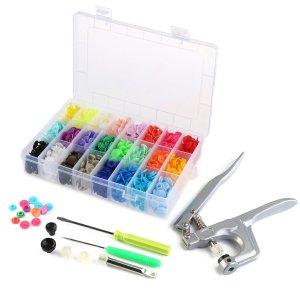 Plastic snap kit