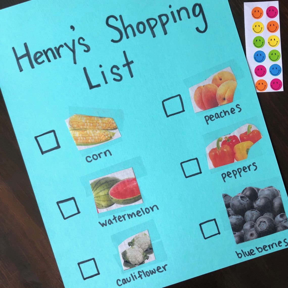 Grocery Store Scavenger Hunt For Toddlers Let S Live And
