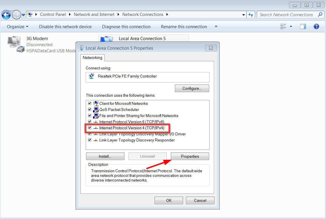 How to Change DNS Settings in Windows 7 & 10