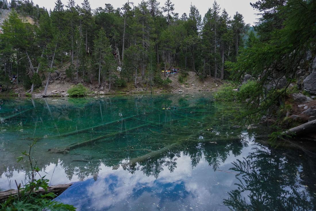 Lac Vert da Pian del Colle, Bardonecchia