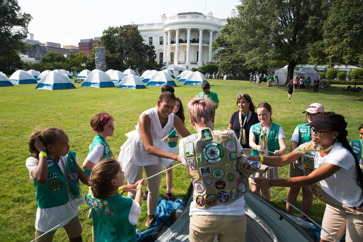 Making History First Ever White House Campout