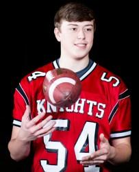Travis Krayenhagen, 17, Assumption High School, is back in the game after hip surgery.
