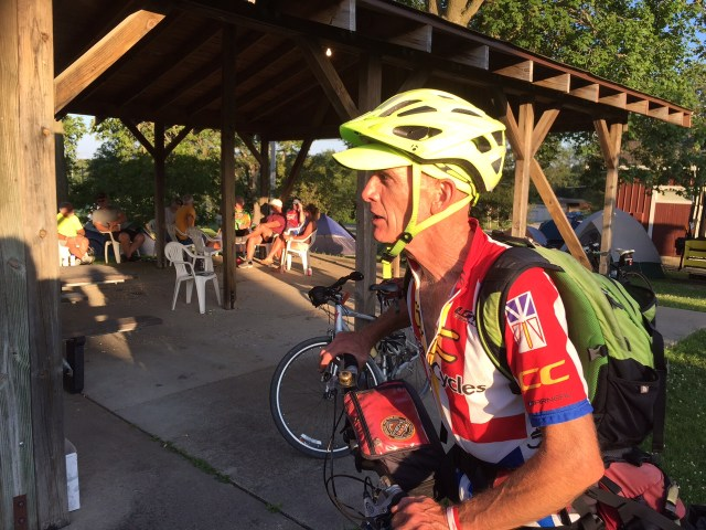 """Dean """"Bareback"""" Mathias is a RAGBRAI and QCBC legend, RAGBRAI recognized him last year for the tremendous service he rendered to other cyclists in need along the route."""