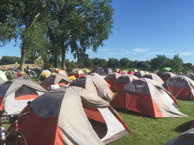 RAGBRAI Tent City