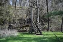 Eden Valley's swinging bridge