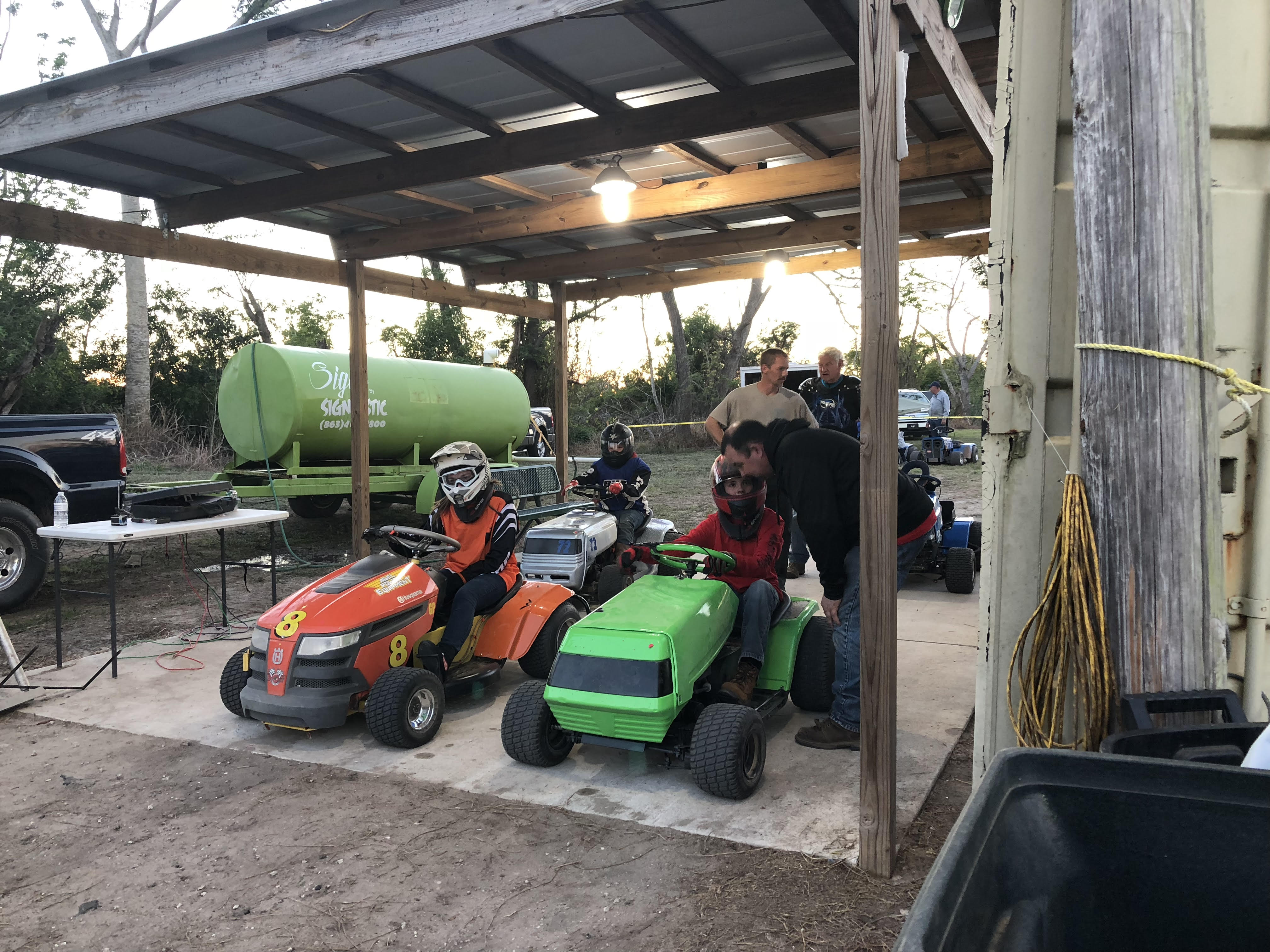 Lawn Mower Racing Rules